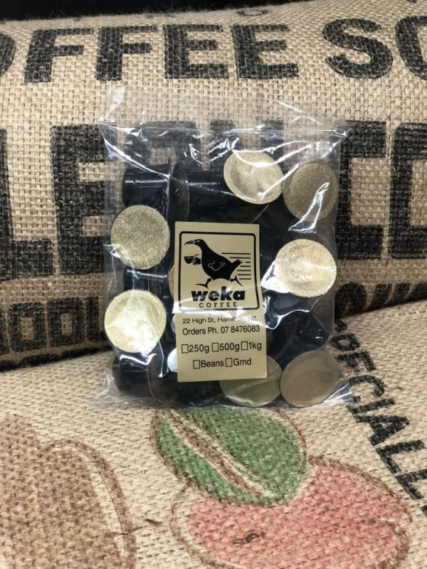 Weka Coffee Pods